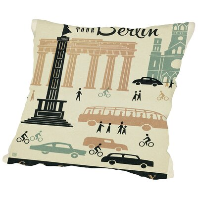 WT Berlin MOD Throw Pillow Size: 18 H x 18 W x 2 D