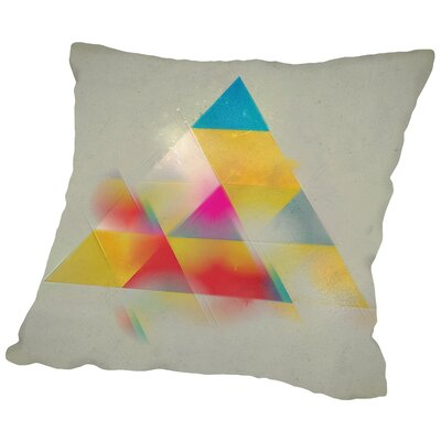 Try 1 Throw Pillow Size: 16 H x 16 W x 2 D