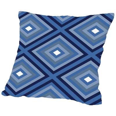 Indigo Throw Pillow Size: 14 H x 14 W x 2 D