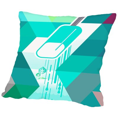 Popsicle Throw Pillow Size: 16 H x 16 W x 2 D