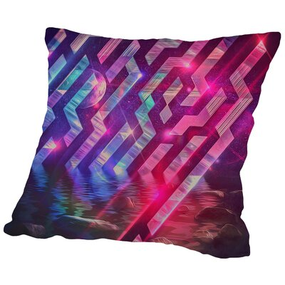 Xrystyl Nyytx Throw Pillow Size: 14 H x 14 W x 2 D