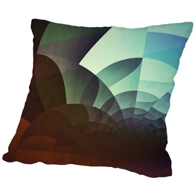 Spyyryl Yyt Throw Pillow Size: 18