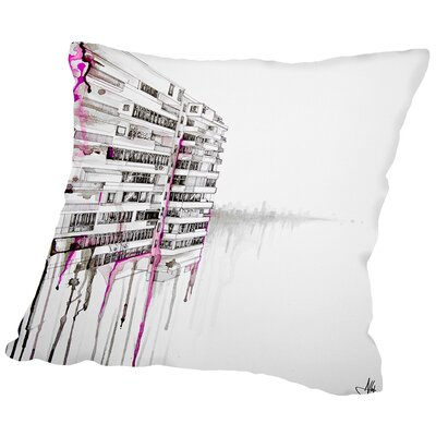 Rendition Throw Pillow Size: 16