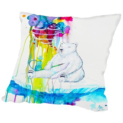 Mint (HD Print FINAL) Throw Pillow Size: 18 H x 18 W x 2 D