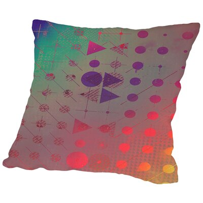 Vhs Throw Pillow Size: 18 H x 18 W x 2 D
