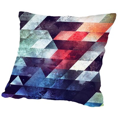 Crykkd Glyry Throw Pillow Size: 20 H x 20 W x 2 D