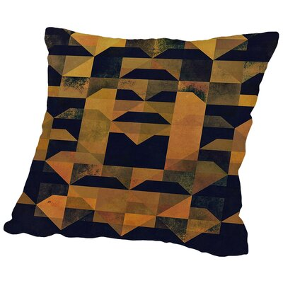 Gyld Kyck Throw Pillow Size: 18 H x 18 W x 2 D