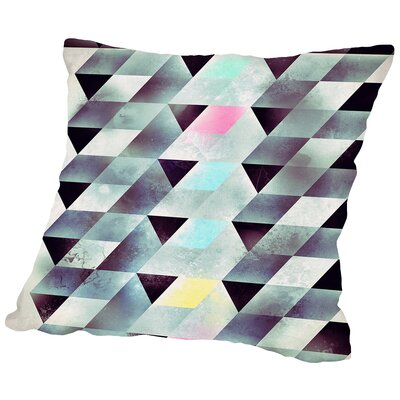 Lyykkd Throw Pillow Size: 18 H x 18 W x 2 D