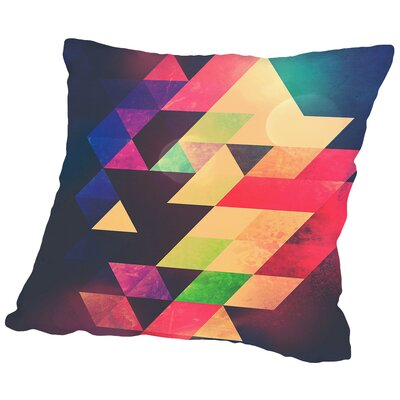 Yyty Dyyd Throw Pillow Size: 18 H x 18 W x 2 D