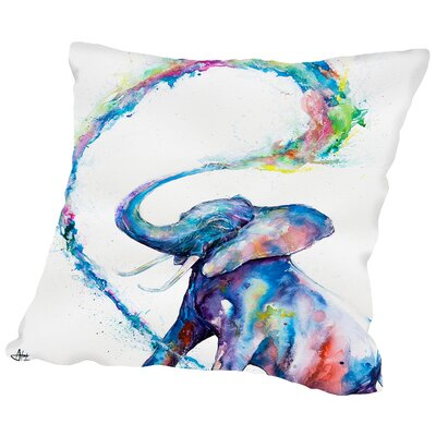 Veris Throw Pillow Size: 20 H x 20 W x 2 D