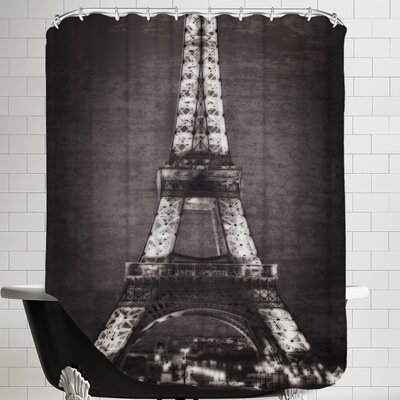 Eiffel Light Shower Curtain