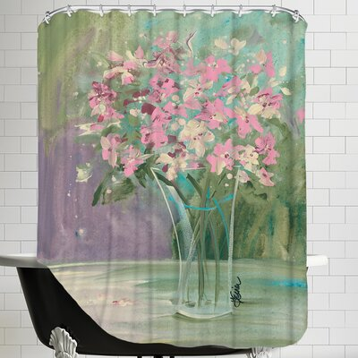 Pastel Blooms Shower Curtain