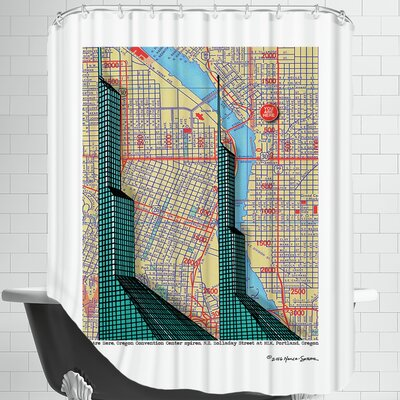 Oregon Convention Center Shower Curtain