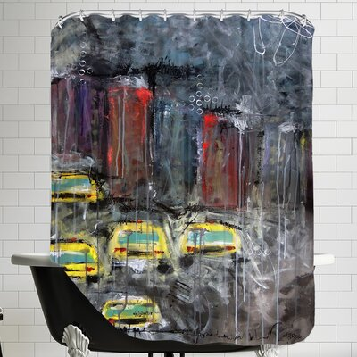 Urbanite 9 Shower Curtain