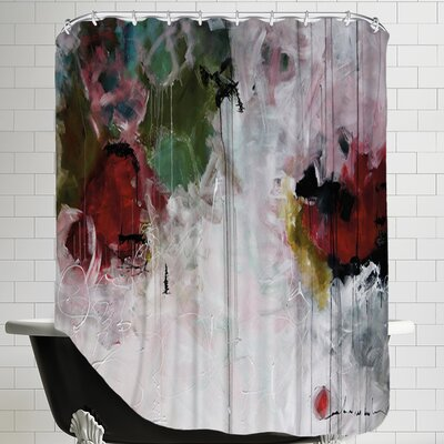Eruptus Shower Curtain