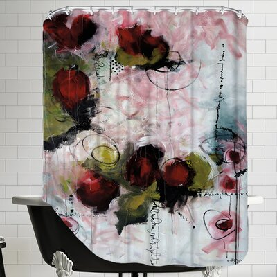 Eruptus Floral Shower Curtain