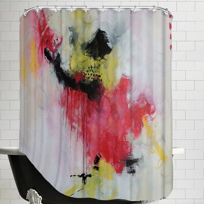 Crazy Rose Shower Curtain