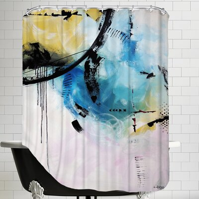 Crazy 12 Shower Curtain