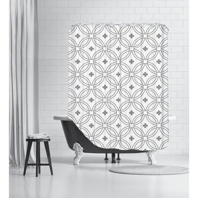 Circle.Jpg Shower Curtain