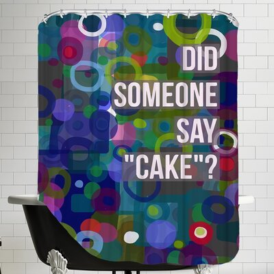 Did Cake Shower Curtain
