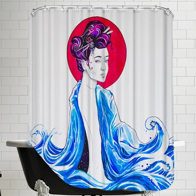 Yume (c) Marc Allante x Jacq Shower Curtain
