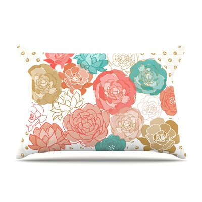 Spring Florals by Pellerina Design Peony Cotton Pillow Sham