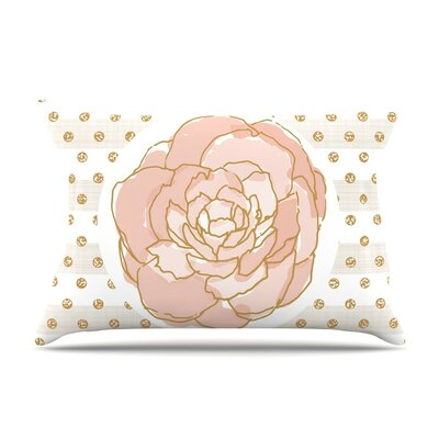 Peony by Pellerina Design Floral Cotton Pillow Sham