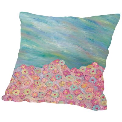 Beauty of Pastels Throw Pillow