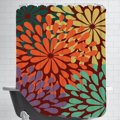 Bee Garden Shower Curtain