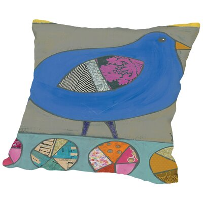 Bird Throw Pillow Size: 18 H x 18 W x 2 D