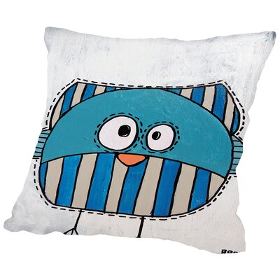 Birdk 2 Throw Pillow Size: 18 H x 18 W x 2 D