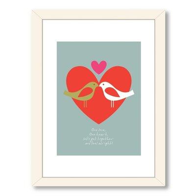 'Birds One Love' Graphic Art ESHM1894 34164187