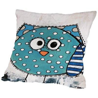 Birdz Throw Pillow Size: 18 H x 18 W x 2 D