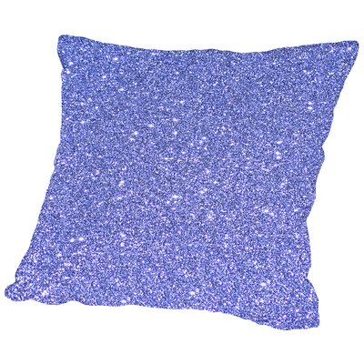 Sparkly Cotton Throw Pillow Size: 14 H x 14 W x 2 D