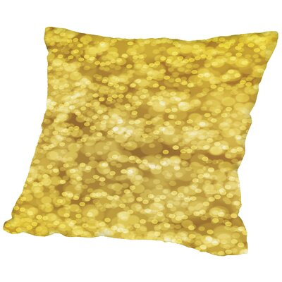 Bokeh Throw Pillow Size: 18 H x 18 W x 2 D