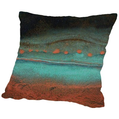 Bonfire Hill - Square Throw Pillow Size: 14 H x 14 W x 2 D