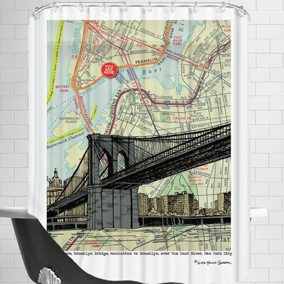 Brooklyn Bridge - Nyc Shower Curtain