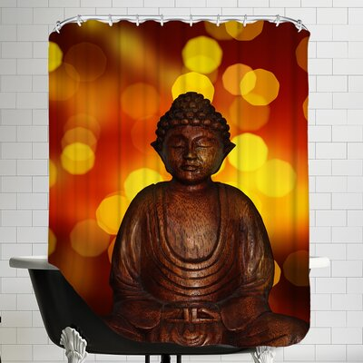 Buddha Bokeh Art Shower Curtain