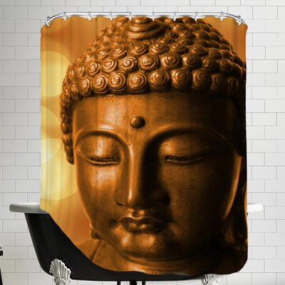 Buddha Meditationn Zen Shower Curtain