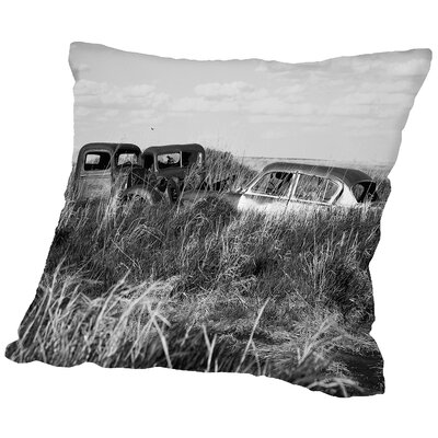 Bumber to Bumber Throw Pillow Size: 18 H x 18 W x 2 D