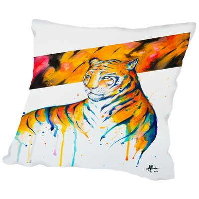 Burning Bright (c) Marc Allante Throw Pillow Size: 18 H x 18 W x 2 D