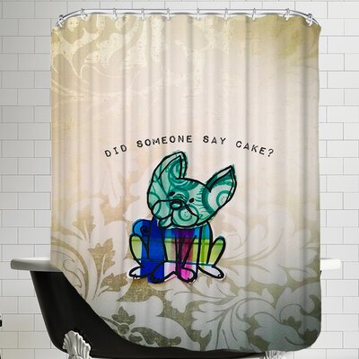 Cake Shower Curtain
