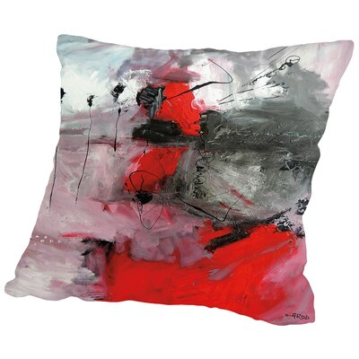 Abdikation Romantique Throw Pillow Size: 16 H x 16 W x 2 D
