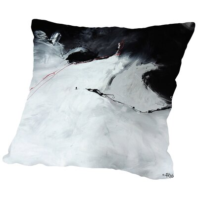 Abdikation De Toi Throw Pillow Size: 18 H x 18 W x 2 D