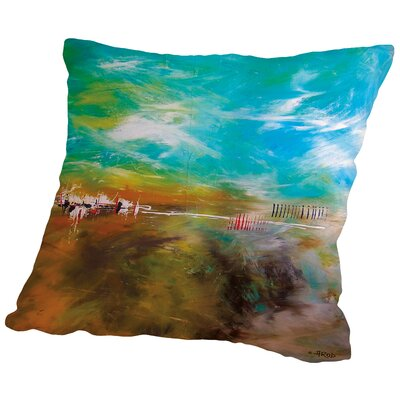 Abdikation Terrestre Throw Pillow Size: 18 H x 18 W x 2 D
