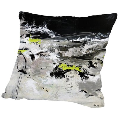 Abdikation Du Temps Qui Passe Throw Pillow Size: 16 H x 16 W x 2 D