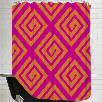 Abstract Geometric Shower Curtain