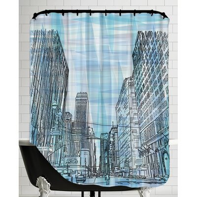 16B11 NYC Blend Shower Curtain
