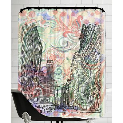 16B14 NYC Blend Shower Curtain