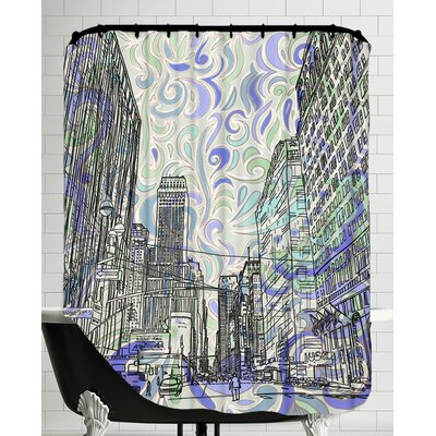 16B15 NYC Blend Shower Curtain